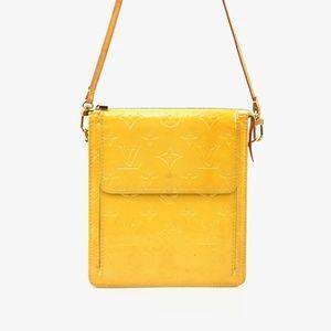 Auth Louis Vuitton Vernis Mott Shoulder #1216L86